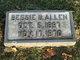Profile photo:  Bessie B <I>Briggs</I> Allen