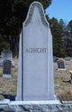 Profile photo:  Infant Daughter Albright