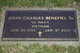 Profile photo:  John Charles Benefiel, Sr