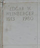 Profile photo:  Edgar W Weinberger