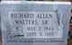 Richard Allen Walters, Sr
