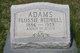 Flossie <I>Bedwell</I> Adams