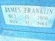 Profile photo:  James Franklin Beaver