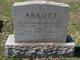 Profile photo:  Alice Morse <I>Barrett</I> Abbott