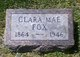 Clara Mae <I>Roberts</I> Fox