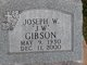 Profile photo:  Joseph W Gibson