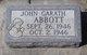 John Garath Abbott
