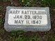 Mary Katterjohn