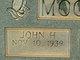 John H Moore
