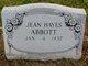 Profile photo:  Jean <I>Hayes</I> Abbott