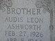 Ardis Leon Ashworth