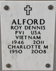 Profile photo: Pvt Roy Dennis Alford