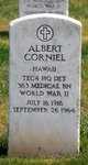 Profile photo:  Albert Corniel