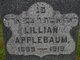 Lillian H <I>Eisner</I> Applebaum