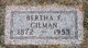 Profile photo:  Bertha F Gilman