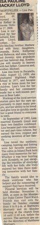 Lisa Pauline <I>Mackay</I> Lloyd
