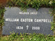 Profile photo:  William Gaston Campbell