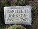 Isabelle <I>Hinkel</I> Johnson