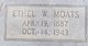 Ethel Velma <I>Welch</I> Moats