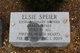 Profile photo: Mrs Elsie <I>Shapiro</I> Speier