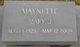 "Mary Jeanette ""Mary J."" <I>Jarboe</I> Alcorn"