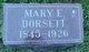 Mary Elizabeth <I>Bowers</I> Dorsett