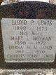 Profile photo:  Mary Louise <I>Moynan</I> Lewis