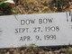 Profile photo:  Dow Bow
