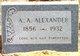 Ashvel Archie Alexander