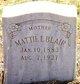Mattie L. <I>Hamner</I> Blair