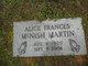Profile photo:  Alice Frances <I>McNish</I> Martin