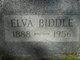 Profile photo:  Elva <I>Golt</I> Biddle