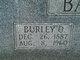 Profile photo:  Burley Augustus Bailey