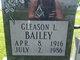 Profile photo:  Gleason L Bailey