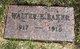 Walter E Baker