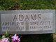 Profile photo:  Arthur W. Adams