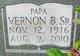 Profile photo:  Vernon B Bridges Sr.