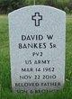 David W. Bankes, Sr