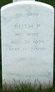 Ruth P Arvantes