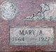 Mary Anne <I>Cobane</I> Love