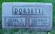 Pearl <I>Tarr</I> Dorsett