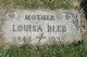 Louisa Elizabeth <I>Schasel</I> Bleb
