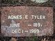 Profile photo:  Agnes E Tyler