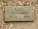 """Lucy Edith """"""""Lutie"""""""" <I>Whipple</I> Anderson"""