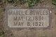 Profile photo:  Mabel Ethel <I>Lincoln</I> Bowles