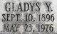 Profile photo:  Gladys <I>Yardley</I> Oakden