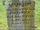 Profile photo:  Sarah Jane Alexander