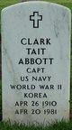 Profile photo: Capt Clark Tait Abbott