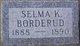 Selma K. Borderud