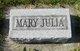 Mary Julia McKinney